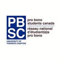 Pro Bono Students Canada - University of Toronto Chapter