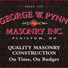 George W Pynn Masonry Inc