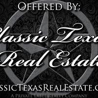 Classic Texas Real Estate