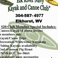 Elk River Navy   ( Kayak and Canoe Club )