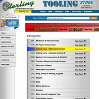 Sterling Machinery Exchange Tooling