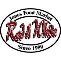 Jones Food Market Red & White