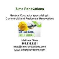 Sims Renovations