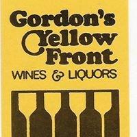 Gordon's Yellow Front Wines & Liquors