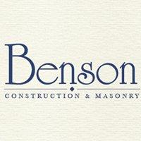 Benson Construction & Masonry