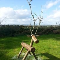 Dorset Log Reindeer
