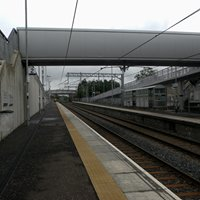 Caldercruix railway station