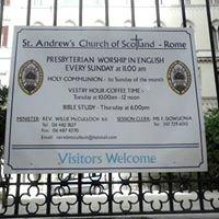 St Andrew's Church of Scotland, Rome