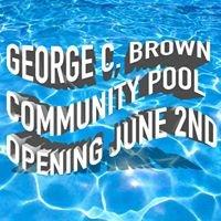 George C. Brown Community Pool