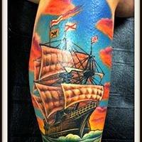 Wild Blue Tattoo