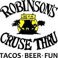 Robinson's Cruse Thru