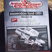 Avalon Raceway Sprint Cars