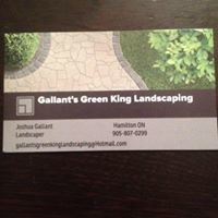 Gallant's green king landscaping
