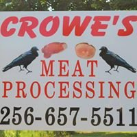 Crowe's Meat Processing