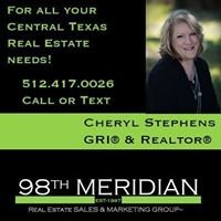 Cheryl Stephens - Realtor - 98th Meridian