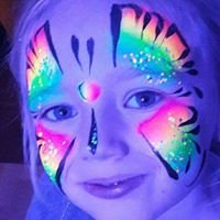 Face painting by Lorraine