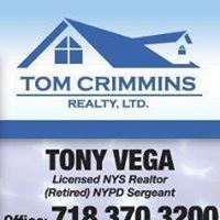 Tony Vega, Agents to the Heroes team, NYS Licensed Associate Broker