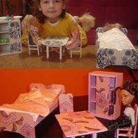 Drveni namještaj za lutke  KIKA