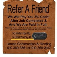 James Construction & Roofing