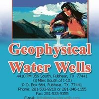 Geophysical Water Well