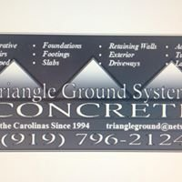 Triangle Ground Systems Concrete, Grading & Footings