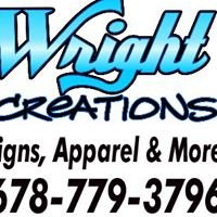 Wright Creations Signs Graphics & Apparel