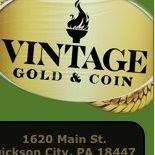 Vintage Gold & Coin