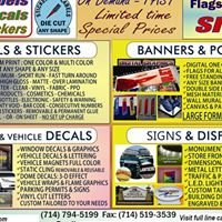 F1 Signs Banners Labels Decals Vehicle Graphics