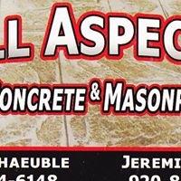 All Aspects Concrete & Masonry