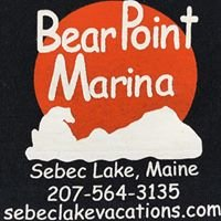 Bear Point Marina, Cabins, Campground and Restaurant on Sebec Lake