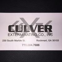 Culver Exterminating Company, Inc.
