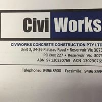 Civiworks Concrete Construction Pty Ltd