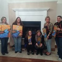 Artisans Downeast Sip and Paint