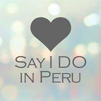 Say I do in Peru