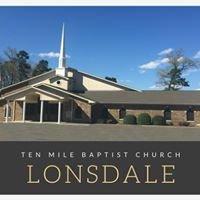 Ten Mile Missionary Baptist Church