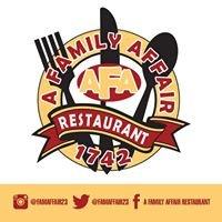 A Family Affair Restaurant