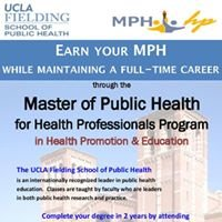 UCLA Masters of Public Health for Health Professionals