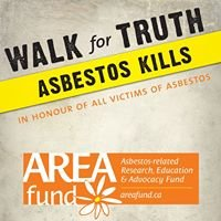 AREA Fund - 2013 Walk for Truth: Asbestos Kills