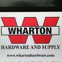Wharton Hardware and Supply
