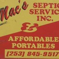 Mac's Septic Service, Inc