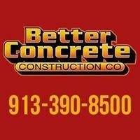 Better Concrete Construction Company