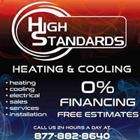 High Standards Heating - Cooling - Electrical