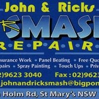 John and Ricks Smash Repairs