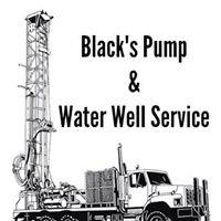 Black's Pump & Water Well Service Inc.