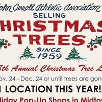 Bishop John Carroll Christmas Tree Lot