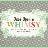 Once Upon A Whimsy Prom Dress and Formal Wear Rentals - By Appointment Only