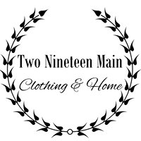 Two Nineteen Main Clothing & Home