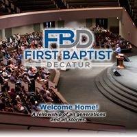 First Baptist Church Decatur, Texas