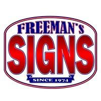 Freeman Signs