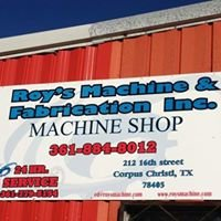 Roys Machine and Fabrication Inc.